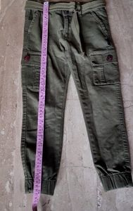 Boys cargo joggers with belt(fixed price)